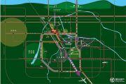 绿地璀璨天城交通图