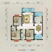 万华汽车城3室2厅2卫114平方米户型图