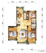 马德里皇家水岸3室2厅1卫0平方米户型图