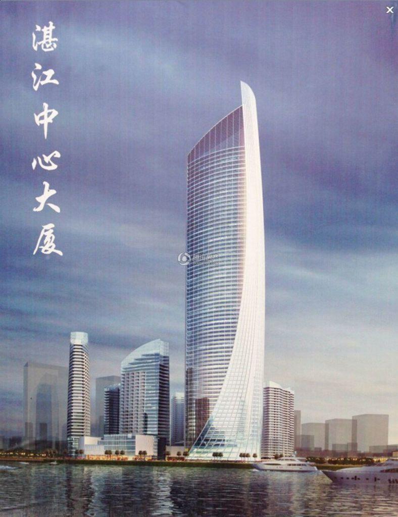 湛江中心大厦效果图