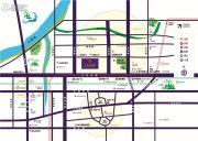 新城・香溢紫郡交通图