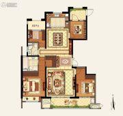 玉环新城吾悦广场4室2厅2卫162平方米户型图