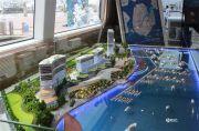 厦门国际游艇汇沙盘图