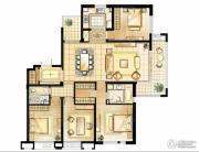 华润橡树湾4室2厅2卫0平方米户型图