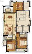 台州中央花园3室2厅2卫140平方米户型图