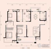 梧桐邑・九棠府4室2厅2卫135平方米户型图