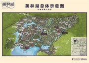 美林湖(天琴半岛)规划图