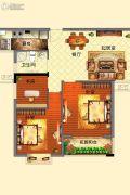 光辉乾城3室2厅1卫106平方米户型图