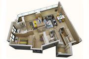 上乘世纪公园3室2厅2卫114平方米户型图