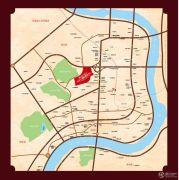 兰天国际商贸中心交通图