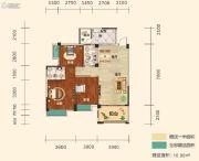 幸福东郡3室2厅2卫109平方米户型图
