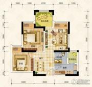 华宇上院0室0厅0卫57平方米户型图