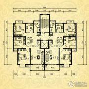 银河湾・3号院3室2厅1卫100平方米户型图