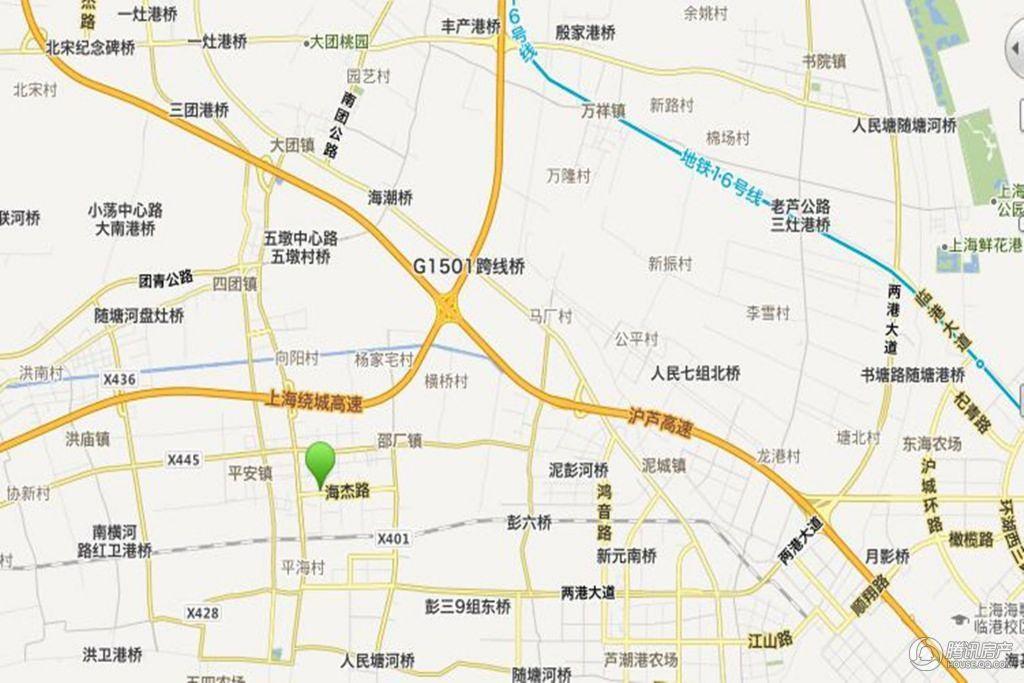 瑞和上海印象 交通图