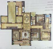 尚品半岛4室2厅2卫136平方米户型图