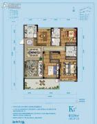 佳源湘湖印象4室2厅2卫126平方米户型图
