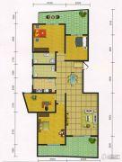 郧阳国际园4室2厅2卫166平方米户型图