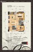 美泉16122室1厅1卫62--65平方米户型图