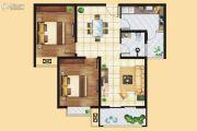 远洋・新天地2室2厅1卫94平方米户型图