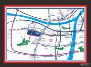 王家湾中央生活区交通图