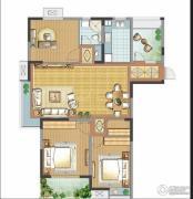 善水湾3室2厅1卫118平方米户型图