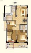 茂新三味雅筑2室1厅2卫0平方米户型图