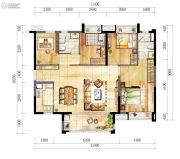 时代廊桥(增城)4室2厅2卫112平方米户型图