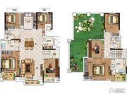 华启金悦府6室2厅2卫220平方米户型图