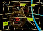 万盛南加州交通图