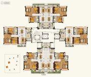 碧桂园豪进左岸93--117平方米户型图