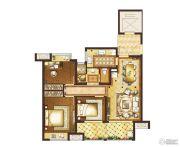 复地宴南都3室2厅1卫97平方米户型图