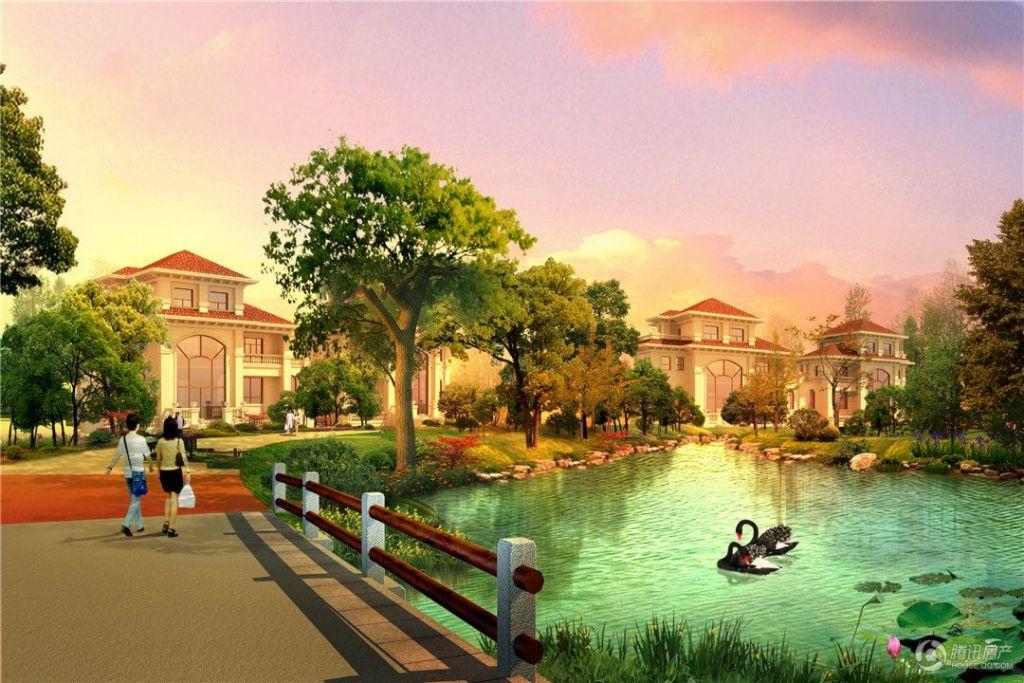 太阳湖大花园 效果图