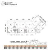 重庆天安数码城1室1厅1卫0平方米户型图