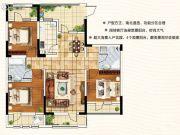 天翔茗苑3室2厅2卫118--151平方米户型图