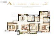 东方公馆4室2厅2卫0平方米户型图