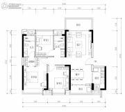 海伦堡・熙岸3室2厅2卫103平方米户型图