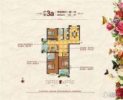 福泰御河湾2室2厅1卫0平方米户型图