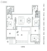 万科森林度假公园3室1厅2卫108平方米户型图
