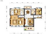 碧桂园太东天樾湾4室2厅2卫142平方米户型图