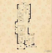 荣盛龙湖半岛3室2厅1卫0平方米户型图