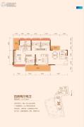 TCL康城四季4室2厅2卫127--128平方米户型图