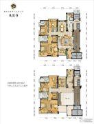 凤凰谷6室3厅5卫447平方米户型图