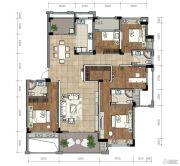 金昌越府5室2厅3卫168平方米户型图