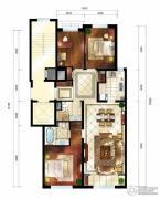 华润西山墅185平方米户型图