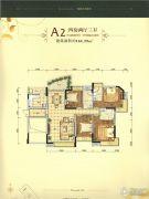 江南御景4室2厅3卫164平方米户型图