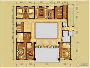 中弘府邸13室3厅12卫1029平方米户型图