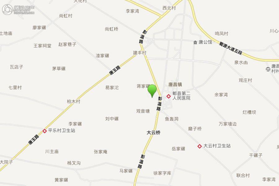 项目交通区位图
