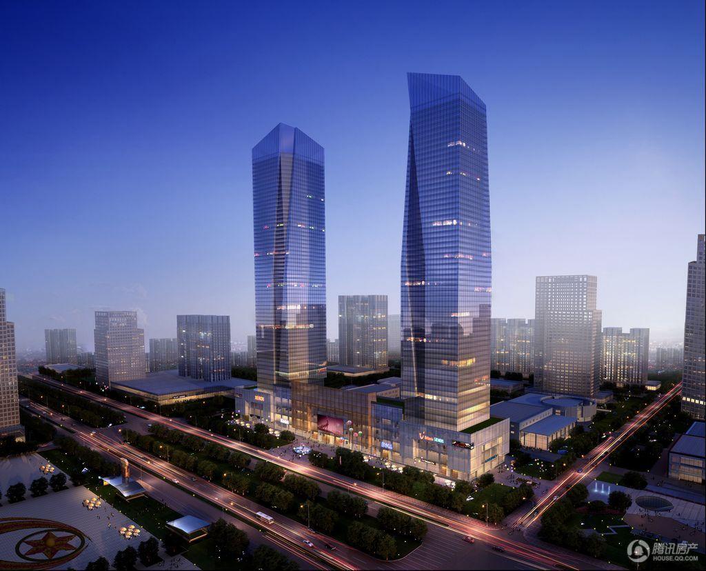 星际未来城效果图