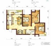 阳光100国际新城3室2厅1卫109平方米户型图