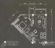 普君新城・华府1室1厅1卫69平方米户型图